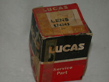 LUCAS CLEAR FRONT PARK/TURN LENS FITS A MGA