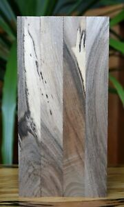 English Black Walnut Woodturning Pen Blanks x4 180x22mm Seasoned Figured Wood