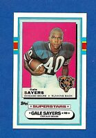 1989 TOPPS FOOTBALL TALK COLLECTION #6 GALE SAYERS HOF NM-MT CHICAGO BEARS