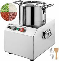 Food Processor Vegetable Cutter 15L Stainless Steel Commercial 1400W High Output