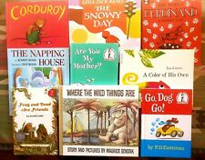 9 Favorite Children's Books~ Corduroy, Where Wild Things Are, Frog & Toad + more