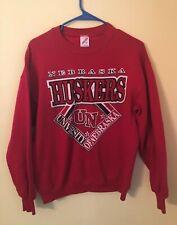 Vintage University of Nebraska Cornhuskers 80's Crewneck Sweatshirt Large