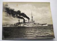 Foto Kaiserliche  S.M.S. Zahringen. Marine Kriegsschiffe