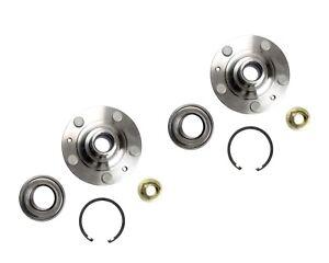Pair: 2 Front Wheel Hub and Bearing Kits Corolla Matrix Vibe Celica With Nuts