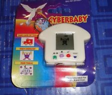 Cyber Baby Keychain Electronic Handheld Travel Game Keychain CE White NEW