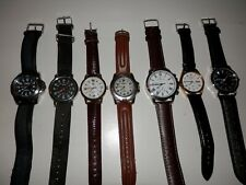 Vintage collection of quartz watches Seiko, Milan, Timex, running, new batteries