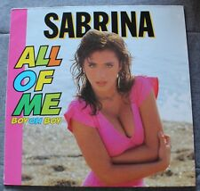Sabrina, all of me boy oh boy - Italo, Maxi Vinyl