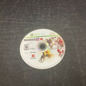 Madden NFL 10, Game Only, Microsoft XBOX 360