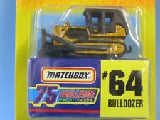 Matchbox USA Issue Gold Challenge Bulldozer Construction Toy Model Car
