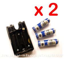 2 x GA37B Bao,AA Size Battery Case+3pcs Normal AA Battery for Baofeng radio,UV3R