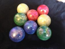 HOM Glass Marbles 42mm Asteroid Collectors marble 4 colors pick qty