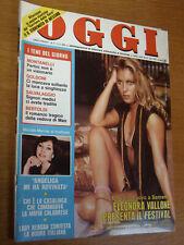 OGGI 1981/6=FESTIVAL SANREMO STORY=GIORGIO MONTANARI=CLAUDIO SIGNORILE=CASINO '