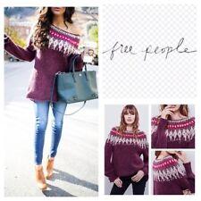 Free People Baltic Fair Isle Sweater. Size L