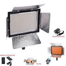 Yongnuo YN900 5500K Pro LED Video Studio Light For Canon Nikon + Adapter Kit