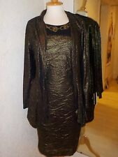 Frank Lyman  Dress and jacket dull gold 33231/33368 size 20