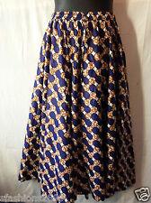 """Women Long Ankara High Waist Elastic Skirt Wax Fabric Maxi African Free size 48"""""""