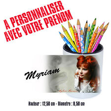 Gobelet stylos ou Brosse à dents personnalisé MYLENE FARMER
