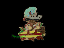 CHIP and DALE with SURFBOARD at TYPHOON LAGOON Water Park Disney 2013 Pin