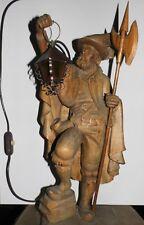 Holzfigiur-Nachtwächter