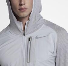 Mens Nike Therma Sphere Element Hybrid Half Zip Running Hoodie Sweatshirt Top L