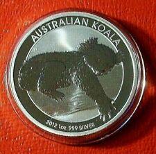 2012  AUSTRALIAN KOALA 1 OUNCE .999 FINE SILVER $1 COIN FROM PERTH MINT   NEW