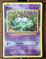 Pokemon Card  MEW  HOLO RARE  EVOLUTIONS  53/108 ***MINT***