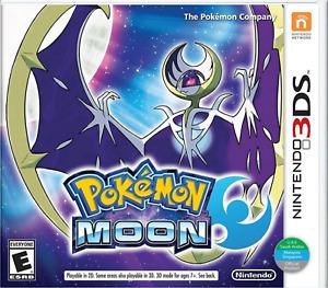 Pokemon Moon - Nintendo 3DS Brand New Factory Sealed