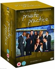 PRIVATE PRACTICE 1-6 (2007-2013) COMPLETE TV Seasons Series NEW Reg2 DVD not US