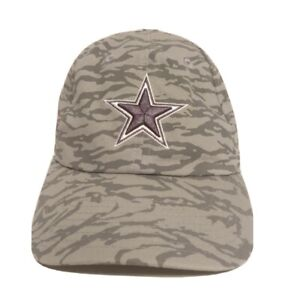 Nike Dallas Cowboys Hat DAL Embroidered Adjustable Hat Gray Mens