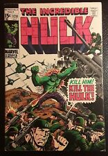 HULK #120  VF+ WH/OW pgs, MAXIMUS, EVIL INHUMANS! ORIG. OWNER! GORGEOUS BOOK!