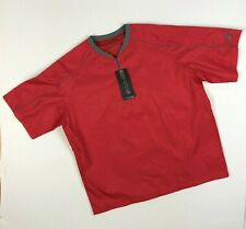 NWT Mizuno Impermalite Baseball Batting Jacket Red Men's Size Small