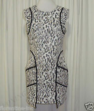 "BEAUTIFUL C&M CAMILLA AND MARC ANIMAL PRINT DRESS AUS 12,USA 8 ""LUCKY DAYS"""