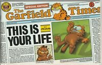 "Australian Garfield #10 ""This Is Your Life"" Budget Books 1987 ""Special Edition"""