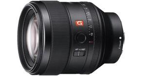New Sony FE 85mm F1.4 GM Lens - SEL85F14GM