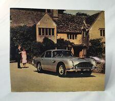 Aston Martin DB5 Replica Sales Brochure