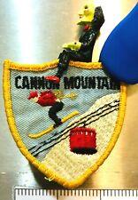 Cannon Mtn ~ Vintage Ski Patch ~ Franconia, Nh ~ v.2