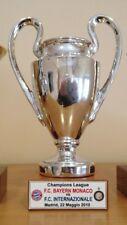 "INTER FC MINIATURA ""CHAMPIONS LEAGUE 2010"" RESINA GALVANICA ORO/ARGENTO"