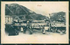 Como Città Lago di Battello PIEGHINE cartolina VK0244