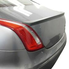 For Jaguar XJ 13-19 T5i Factory Style Fiberglass Rear Lip Spoiler Unpainted