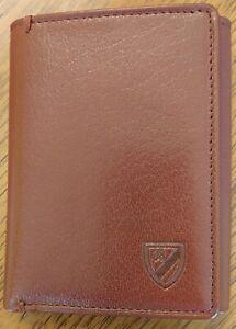 Daniel Cremieux Tri Fold Leather Walett Brown