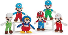 """OFFICIAL NEW 14"""" SUPER MARIO BROS COSTUMES PLUSH SOFT TOY NINTENDO TOY"""