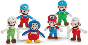 "OFFICIAL NEW 14"" SUPER MARIO BROS COSTUMES PLUSH SOFT TOY NINTENDO TOY"