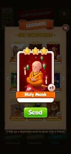 COIN MASTER Holy Monk