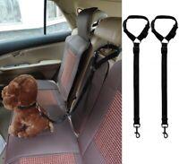 Dog Car Seatbelt Harness Adjustable Safe Restraint Security for Travel 2PCS