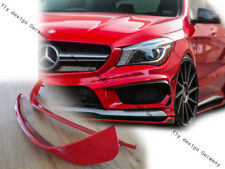Rojo Spoiler Delantero Mercedes Cla Coupé AMG CLA45 Tuning Alerón Difusor