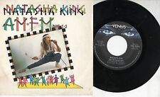 NATASHA KING disco 45 giri STAMPA ITALIANA Am-Fm  MADE in ITALY 1983