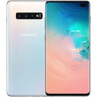 Samsung Galaxy S10+ G975 128GB Unlocked GSM LTE 16MP Rear Camera - Prism White