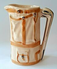 Vintage Wade England Hand Painted Golf Bag Creamer Pitcher Jug