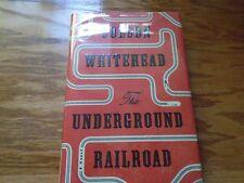 Signed The Underground Railroad Colson Whitehead 1st/1st HC Pulitzer Prize Award