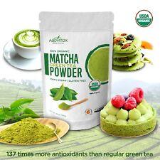 USDA Certified Organic Matcha Green Tea Powder Culinary Grade, 16 oz Bag